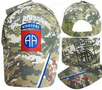 U.S. Army 82nd Airborne All The Way ACU Digital Camo Shadow Cap CAP627C Hat