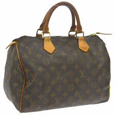 LOUIS VUITTON SPEEDY 30 HAND BAG MONOGRAM CANVAS LEATHER M41526 MB1048 O02540