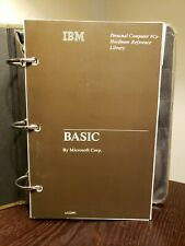 Microsoft IBM Personal Computer HARDWARE REFERENCE LIBRARY, BASIC-PC jr, 6322881