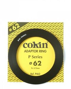 Genuine Cokin P462 adapter ring 62mm for P Serie filters