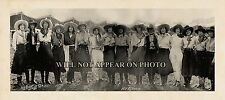 Miller Bros. 101 Ranch Show Cowgirls Vintage Panoramic Photograph 7 x 16 Reprint
