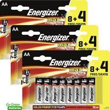 36x Energizer AA MAX Alkaline Powerseal Batteries LR6 MN1500 MIGNON *FILM OFFER*