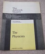 The Physicists - RSC 1963  Diana Rigg, Michael Horden, Irene Worth