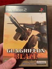 GunGriffon Blaze (PlayStation 2) - Complete - Gundam - Ps2 - VGC