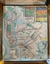 New York City Subway Map (From 1979)