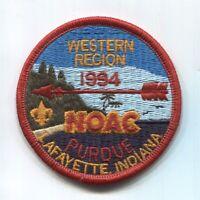 BSA NOAC 1994 Western Region red border patch