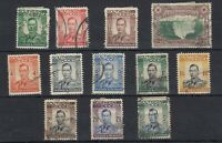 Southern Rhodesia 1938 Set To 5/- Fine Used JK411