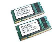 Electrobyt PC2-5300S-555-13 4GB (2x2GB Kit) 2Rx8 667MHz DDR2 Laptop Memory
