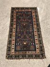 Mid 20th Century Colourful Afghan Hand Knotted Rug Decorative Country House