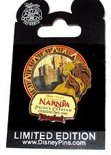 LE Disney Pin✿Chronicles Narnia Prince Caspian Open Day Aslan Lion Compass Rose