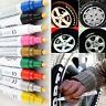 Neu Wasserdichte Farbe Textmarker Auto Reifen Gummi Metall Kugelschreiber Gift
