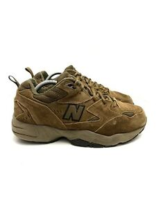 New Balance 608 Running Hiking Shoes Brown Suede MW608ODB Men's 10.5 4E Wide