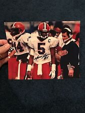 MARVIN GRAVES SIGNED 8 By 10 PHOTO SYRACUSE UNIVERSITY SU COA QB