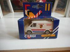 "Corgi Ford Transit Van ""Porsche Kremer Racing"" in White in Box"