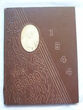 1944 SAINT FRANCIS HIGH SCHOOL YEARBOOK LAFAYETTE, INDIANA  THE ECHO