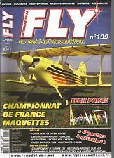 FLY N°199 TECK POKAL / POWER PEAK C8 EQ-BID ROBBE / CESSNA 188 / H15 SCORPIO