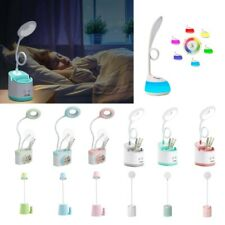 LED Desk Light Bedside Reading Lamp Dimmable Rechargeable Multicolor Best 2020