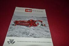 Massey Ferguson 25 20 Side Rakes Dealer's Brochure DCPA6