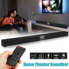60W Wireless Bluetooth Sound Bar Soundbar 8 Speaker + Remote Home TV Theater