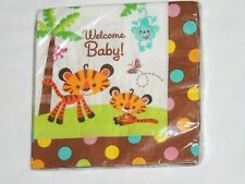 FISHER PRICE BABY  SHOWER 16-PAPER LUNCH NAPKINS-   PARTY SUPPLIES
