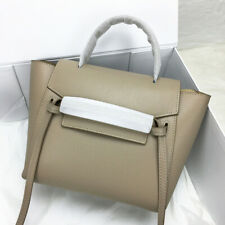 Designer Inspired Genuine Leather Belt Knot Large Trapeze Phantom Bag For Women