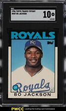 1986 Topps Traded Tiffany Bo Jackson ROOKIE RC #50T SGC 10 GEM MINT