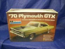 MONOGRAM 1970 PLYMOUTH GTX  PLASTIC MODEL KIT # 2293   1/24 SCALE SEALED