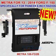 "Metra 108-Fd2B Install Kit For Pioneer Dmh-C5500Nex 8"" Receiver 13-18 Ford F-150"