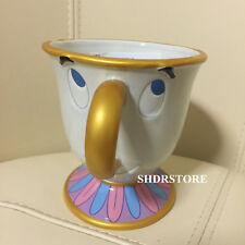 SHDR Beauty and the beast Chip MUG CUP SHANGHAI DISNEYLAND DISNEY PARK