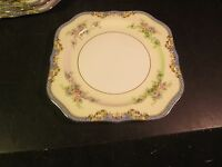 """Noritake Azure 8"""" Square Salad Plate Pattern # 623"""