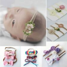 Flower Baby Headband For Girl Bows Crown Head Band Turban Newborn Hair band