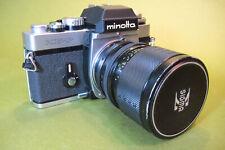Minolta XE-5 Camera Body + Sigma-XQ f/3.5 39~80mm mini-zoom Lens