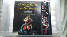 More details for jacquline dupre & the elgar cello concerto tel dec laser disc rare promo copy