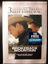 """BROKEBACK MOUNTAIN"" DVD (NEW!!) With Bonus Features!"