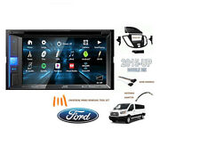 NEW 2015 - UP FORD TRANSIT VAN Car Stereo Kit USB TOUCHSCREEN BLUETOOTH DVD