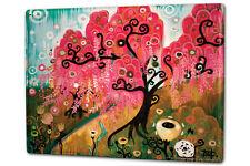 Signo de estaño XXL Plantas árbol Rosa