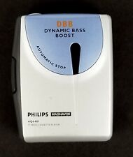 Philips AQ6481 Cassette Tape Player Walkman Portable Magnavox Clip Tested HGB36