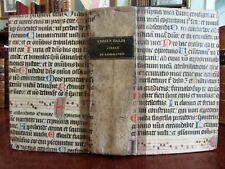 World Geography Atlas 1839 Medieval manuscript binding 24 city plans & maps