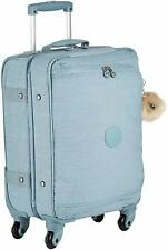 Kipling CYRAH S Spinner Suitcase Trolley. Colour: Blue Dazz Soft Aloe RRP £164