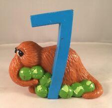 "Sesame Street Snuffleupagus #7 Figurine Cake Topper 3"" PVC"
