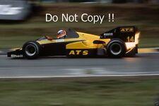 Manfred Winkelhock ATS D7 British Grand Prix 1984 Photograph 3