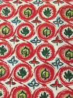 1950s Vintage Fabric Original Print - (F3-50s) Swissroll