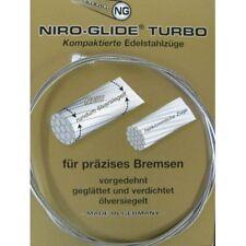 FASI TURBO Niro-Glide Fahrad-Bremsinnenzug Edelstahl 800mm Walzennippel