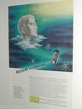 1949 IBM advertisement, Electron Tube, International Business Machines