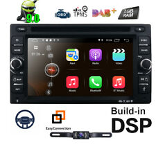"GPS Navi Android 9.0 4G WIFI 6.2""Double 2DIN Car Radio Stereo DVD Player +Camera"