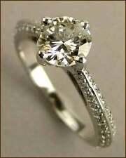 Hearts on Fire18k Felicity Knife Edge 1.41 ct. Diamond Ring - NEW - $11,400