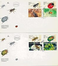 ISRAEL 1994 BUGS BEES ANTS FDC's