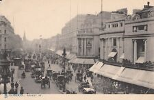 Antique POSTCARD c1900-10 Regent Street LONDON, ENGLAND UK Tuck 13150