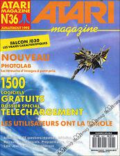 ATARI MAGAZINE N°36 ST PHOTOLAB LYNX FALCON 030 1992