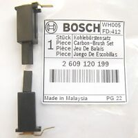 Bosch Carbon Brushes GEX 125-1 AE GSS 23 233 1400 A 140 A 110V ROS10 2609120199